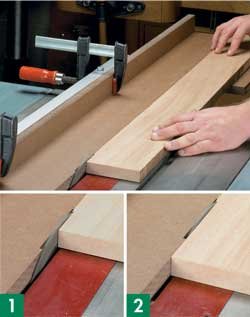 Jointing On A Table Saw Photos