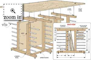 Lumber Storage Diagrams