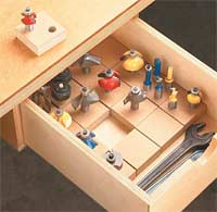 Router Box Organizer